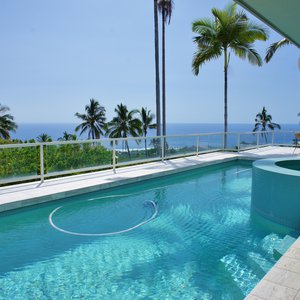 Pool & Plunge Pool with an Ocean View